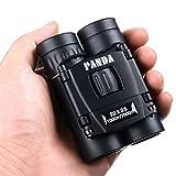 UrChoiceLtd® Binocular, Panda 22x25 Pocket Size Zoom Mini Portable HD Low Light Night Vision Binoculars Telescope With Nautical Outdoor Camping For Children Sky Gazers & Activity Journal & Birds Watching