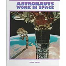 Astronauts Work in Space