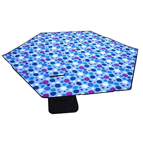 WJQ Picknick-Matte Hex gepolsterte feuchtigkeitsfeste Decke tragbares Zelt Isomatte Outdoor Campingzubehör, langlebig und sicher umweltfreundlich und komfortabel