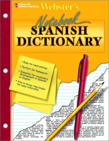Notebook Spanish Dictionary par Vincent Douglas