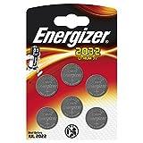 Energizer CR2032 Lot de 6Piles au Lithium 3V...