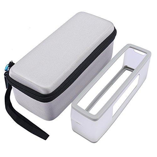 Nicecool rigide Sac de voyage étui de transport avec coque souple pour Bose SoundLink Mini I et mini II Bluetooth Speaker–Compatible avec le chargeur câble
