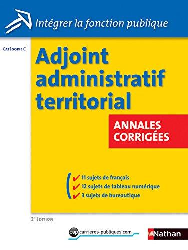 adjoint-administratif-territorial-annales-corriges-catgorie-c