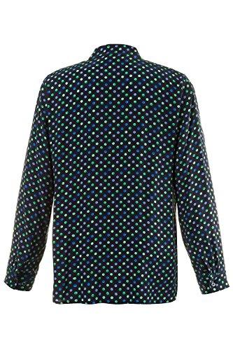 Ulla Popken Femme Grandes tailles Blouse 708735 Noir