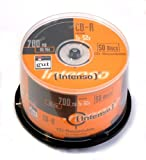 Intenso CD-R Rohlinge (52x Speed, 80 Min, 700MB, 50er Spindel)