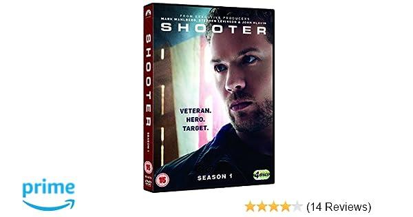 Shooter: Season 1 [DVD]: Amazon.co.uk: Ryan Phillippe, Shantel VanSanten, Cynthia Addai-Robinson, Omar Epps, Eddie McClintock, Josh Stewart, David Marciano, ...