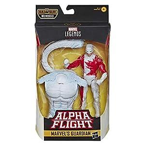 Marvel acción Coleccionable Legends Series de 6 Pulgadas con Figura de Juguete Guardián (X-Men/X-Force Collection) - con Parte de construcción Wendigo, Color sí. (Hasbro)