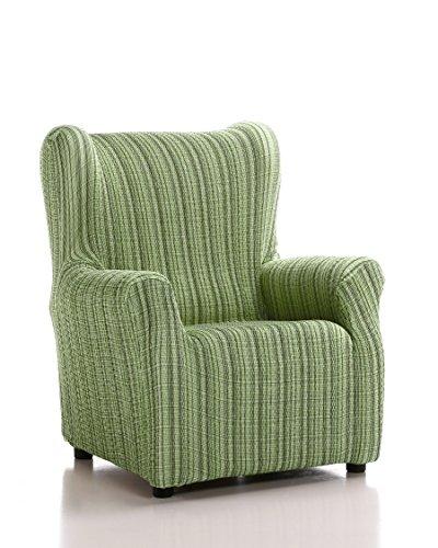 Schutzhülle aus elastischem Sessel Ohrensessel 33x42x8 cm grün