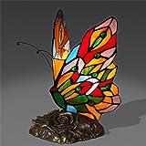 Retro LED Schmetterling Styling Tischlampe Schlafzimmer Nachttischlampe Warm Kreative Romantische Tischlampe