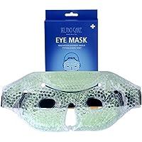Gel-Gesichtsmaske, wiederverwendbar, warm/kalt, Spa, wohltuende Gesichtsbehandlung, Maske zum Schlafen, für Yoga... preisvergleich bei billige-tabletten.eu