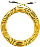 Axing OAK 10-02 Optisches Kabel (10 m) Glasfaser LWL konfektioniert mit FC/PC Stecker Länge 10 m