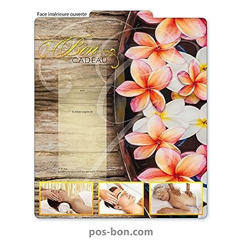 25 Bons cadeaux pour massage, kinésithérapie, wellness et spa MA241F