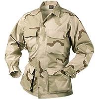 Helikon genuino BDU Camisa Cotton Ripstop 3-Colour Desert tamaño XL