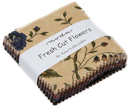 Moda tessuto fiori freschi recisi mini charm pack