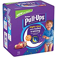 Huggies Pull-Ups Boy's Night Time Potty Training Pants, 1-2.5 Years (56 Pants)