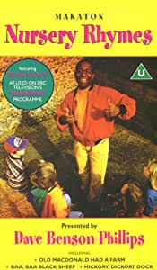 Makaton Nursery Rhymes Vhs Children Amazon Co Uk Video