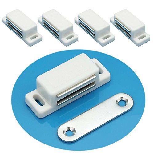 Preisvergleich Produktbild EMOTREE 20x Schrank Tür Magnetschnäpper Kommode Kühlschrank Schublade Möbel Verschluss