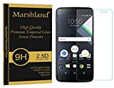 BlackBerry DTEK60 Tempered Glass Screen Screen Protector - Bubble-free Oleo phobic Coating Crystal Clear Clarity 2.5D Round Edge 0.33mm Thickness 9H Hardness Anti Explosion Anti Scratch By Marshland®