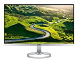 Acer Monitor H277HKsmipuz - IPS Panel 27', 16:9, 3840x2160, 350 cd/m2, 4 ms, HDMI(2.0) + DP + USB 3.1 Type C + USB 3.0 Hub, Speaker Integrati, HDMI FreeSync, Argento