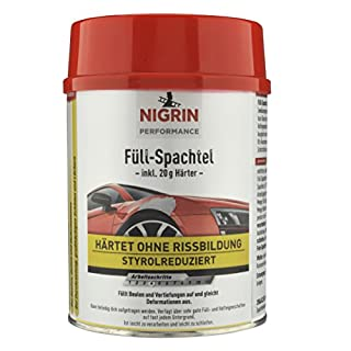 Nigrin 72111 Performance Füll-Spachtel 1 kg, 1000