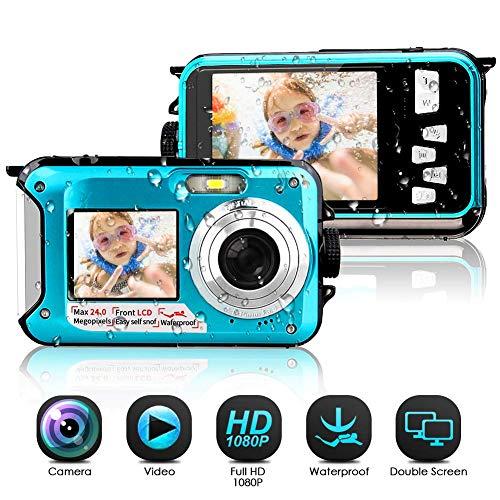 Camara Acuatica Sumergible 1080P Full HD 24MP Camara