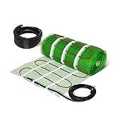Kit per riscaldamento elettrico a pavimento, tappetino adesivo da 200W/m²