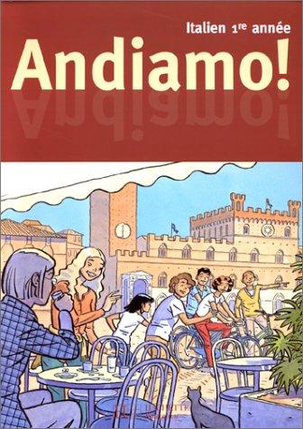 Andiamo, italien, première année, 4e LV2, deuxième année LV3. Elève