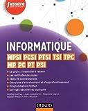 Informatique - MPSI, PCSI, PTSI, TSI, TPC, MP, PC, PT, PSI...