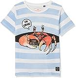 TOM TAILOR Kids Jungen T-Shirt 1/2, Weiß (Off White 8005), 128 (Herstellergröße: 128/134)