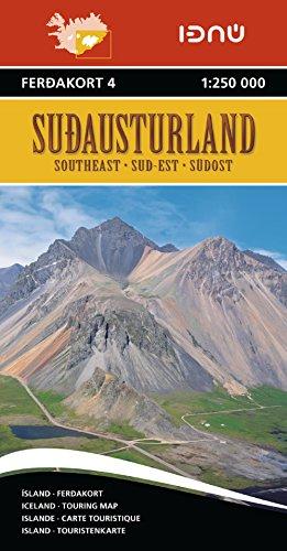 ISLANDE SUD-EST 4  1/250.000