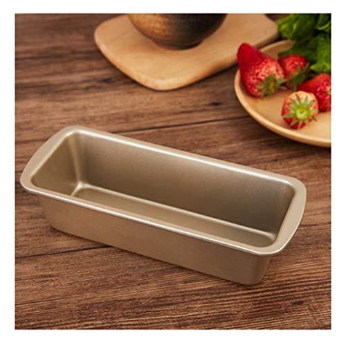 BEI-YI Goldene kleine Toastform Mini Toast Box Kuchen Brot Pfund rechteckige Antihaft Backform Ofen Haushalt (größe : Large)
