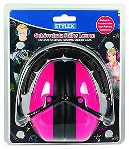 Stylex 42300Protección auditiva Stilles Aprendizaje, Color: Rosa