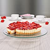Soporte para tartas, cristal, giratorio, Ø30x 2cm-Pastas placa soporte para tartas, plato para tartas (Platos de postre de-Soporte para tartas