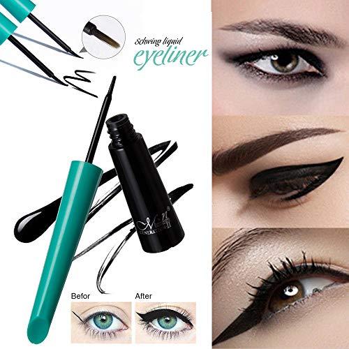 Cooljun Eyeliner,Femmes Étanche Eyeliner Pen Maquillage Cosmétique Liquid Eye Liner Crayon Composent Outil