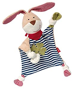 Sigikid 40504 Organic collection - Mantita de arrullo, diseño de conejo