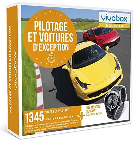Vivabox - Coffret cadeau sensation- PILOTAGE ET VOITURES D'EXCEPTION-1345 stages + 1...