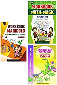 APC English, Maths And Environmental Studies NCERT Workbook For Class 3 (2020-2021)(Set of 3 Books)