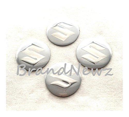 suzuki-silver-chrome-3d-emblem-wheel-center-cap-stickers-logo-badge-wheel-trim-565-mm-dome-set-of-4