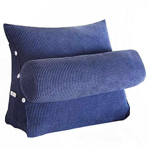 Wedge Pillow Triangle Pillow Throw Back Soporte Ángulo Almohadas Flex Cojín Lectura...