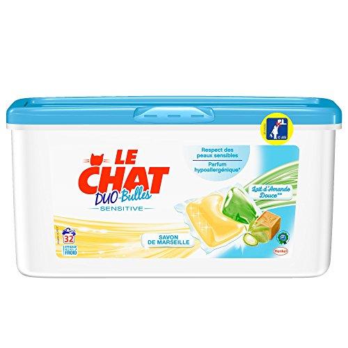 le-chat-sensitive-lessive-liquide-en-dose-32-doses-32-lavages-lot-de-2