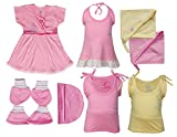 #5: Jo Kids Wear New Born Baby Clothing Set (17600_Baby Girl_0-6 months)