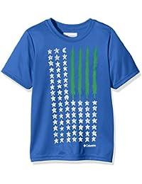 Columbia Camiseta Manga Corta Camp Americana Graphic Azul 14 años (164 cm)