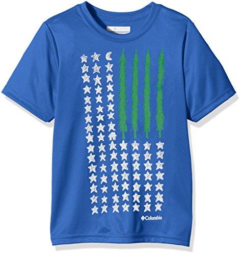 Columbia Camiseta Manga Corta Camp Americana Graphic Azul 10 Años (140 cm) Columbia