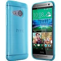 HTC One Mini 2 Hülle in Blau Silikonhülle Case Schutzhülle Tasche für HTC One M8 Mini (Rutschfest)