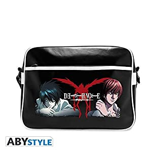 Death Note abybag12938cm L vs luz Messenger Bag