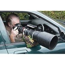 Grippa Sitzsack, leer, wasserdicht Material, Größe ca. 22x 22cm, Wildlife Fotografie Sitzsack für Kameras