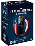 Captain America 1-3 [DVD]