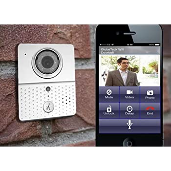 Wireless Wifi Visual Two Way Intercom Doorbell Ip Video