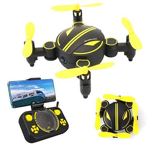 Rabing RC Drohne, Mini Faltbarer FPV VR WiFi RC Quadcopter Fernsteuerungsdrohne mit HD 720P Kamera RC Hubschrauber
