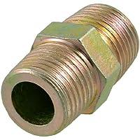 Sourcingmap a12070500ux0184 - Ottone tono 20mm discussioni connettore tubo filetto maschio fitting adapter